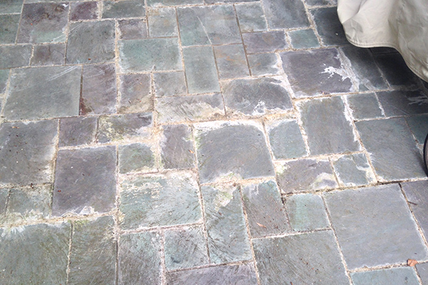 Patio Stone Cleaning