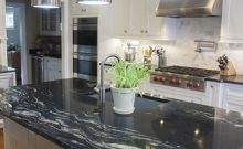 granite countertop black