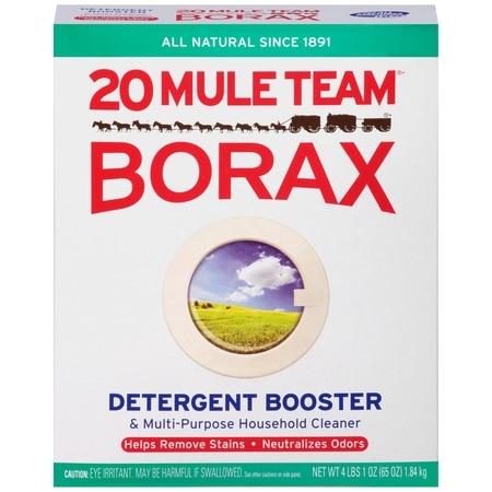 borax to remove soap scum in shower