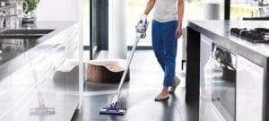 clean ceramic tile floors