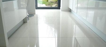 clean tile floors