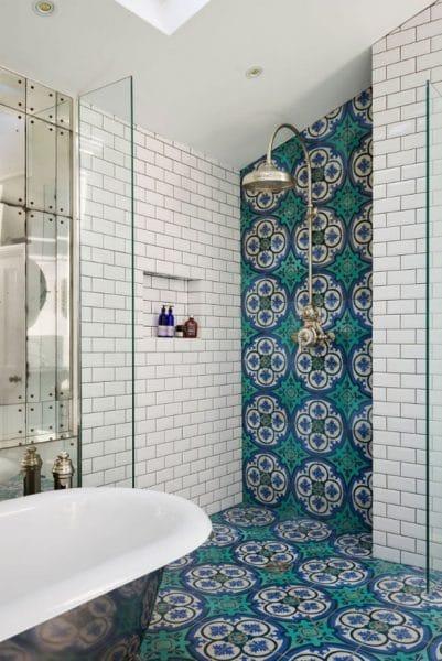 patterned tiles shower tile trends
