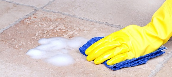 how to clean grout clean when mopping