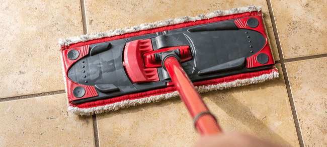 how to keep floor grout clean